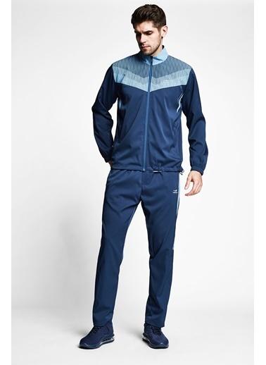 Lescon Safir Mavi Erkek Eşofman Takımı 21B-1029 Mavi